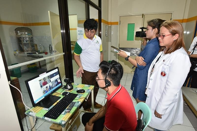 PAMPANGA. The Provincial Health Office (PHO) facilitated the pilot testing of telemedicine, a new medical facility that brings health and medical services of the provincial government closer to Kapampangans. (Contributed Photo)