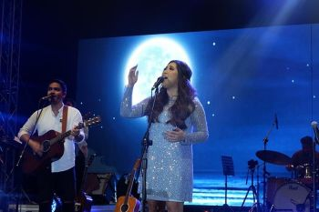 DAVAO. Singer Moira dela Torre in Davao City. (Ralph Lawrence G. Llemit)