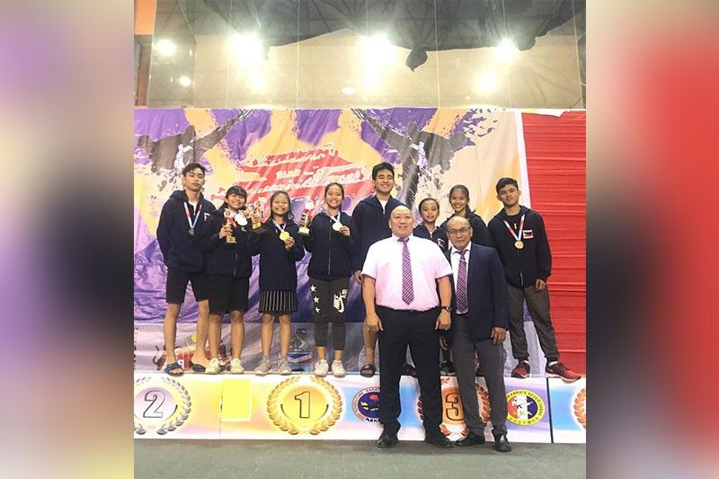REPRESENT WITH PRIDE. Cebu's karatekas bag medals in the 1st Shureido Cup in Malaysia last Aug. 16 to 18. (Contributed Photo)