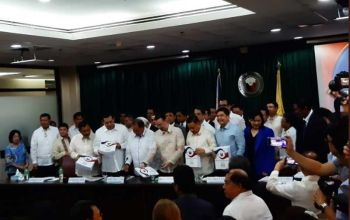 MANILA. Budget Secretary Wendel Avisado submits the proposed P4.1-trillion proposed budget for 2020 to the House of Representatives on Tuesday, August 21, 2019. (Photo by Ryniel Berlanga/SunStar Philippines)