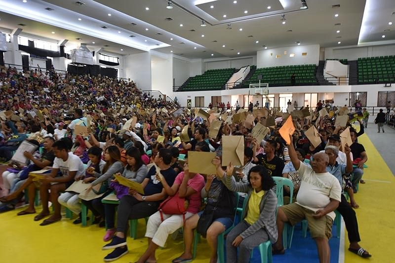 PAMPANGA. Thousands of Kapampangan patients wave their applications for the Individual Medical Assistance Program of the Philippine Charity Sweepstakes Office at the Bren Z. Guiao Convention Center in the City of San Fernando on August 20, 2019. (Contributed photo)