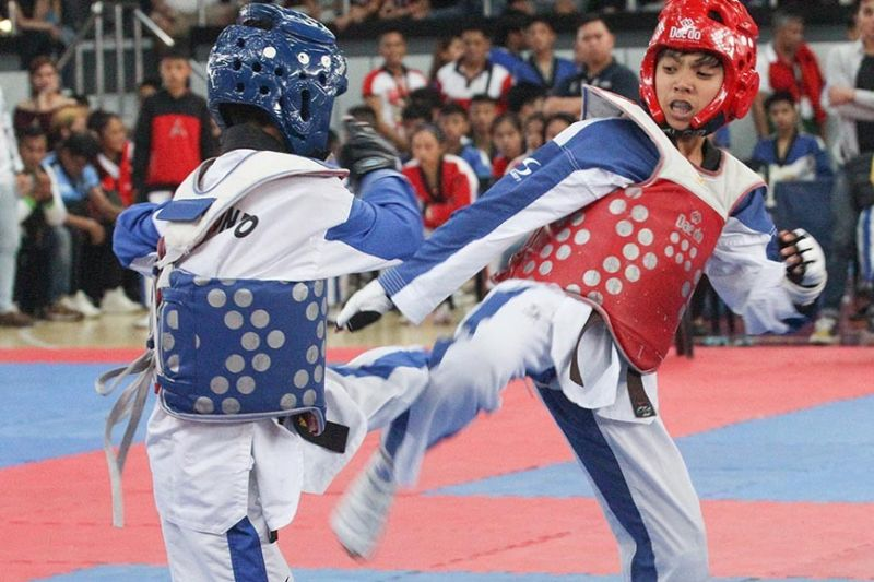 PALAWAN. Combative sports, such as taekwondo, will once again be Baguio's medal hopes in the Batang Pinoy National Finals slated August 25 to 31 in Puerto Princesa City, Palawan. (SSB file photo)