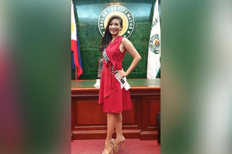 2019 MQ candidate # 6 Vina Marie S. Peña, 20 of Brgy. Granada, Bacolod City.