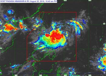 Satellite image from Pagasa onerror=