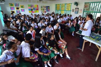 DAVAO. Educational module on illegal drugs will strictly be imposed in all public and private schools. (Macky Lim)