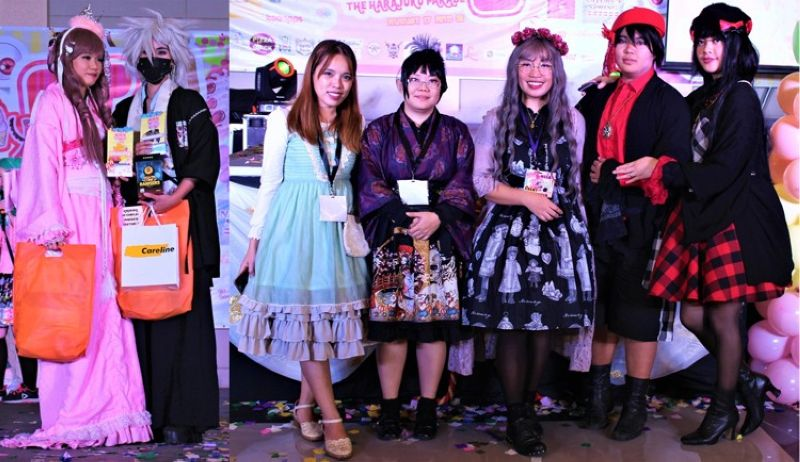 BAGUIO. Orihime and Hikoboshi of the Night Cosplay winners and judges. (Photo by: Osharé.)