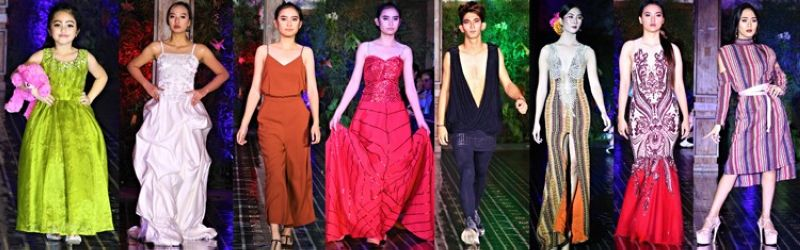 BAGUIO. Creations showcased by the Baguio Fashion Fiesta participating designers.