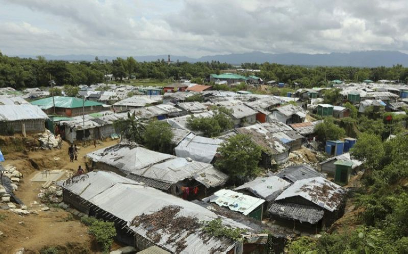 BANGLADESH. In this file photo dated Thursday, August 22, 2019, a general view of Nayapara Rohingya refugee camp in Cox's Bazar, Bangladesh. Sexual violence carried out by Myanmar's security forces against the country's Muslim Rohingya minority was so widespread and severe that it demonstrates intent to commit genocide as well as warrants prosecution for war crimes and crimes against humanity, according to a U.N. report released Thursday August 22, 2019. (AP)