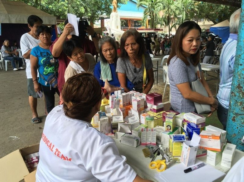 CEBU. More than 350 residents of Barangay Poblacion, Lapu-Lapu City benefited from the
