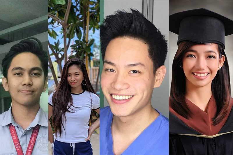From left: Piolo Maurice Laudencia, Elka Nacalaban, Iyan Anthony Lim, Jennica Curato