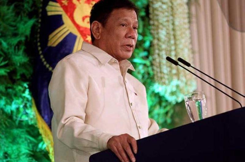 President Rodrigo Duterte (SunStar File Photo)
