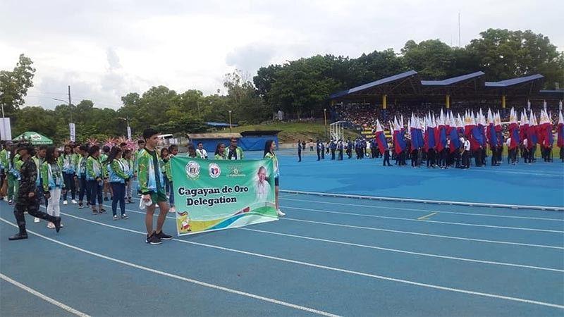 PALAWAN. Cagayan de Oro athletes make a grand entrance the parade and opening ceremony of the 2019 Batang Pinoy National Finals at the Ramon V. Mitra Sports Complex in Puerto Princesa, Palawan on Sunday, August 25, 2019. (Lynde Salgados)