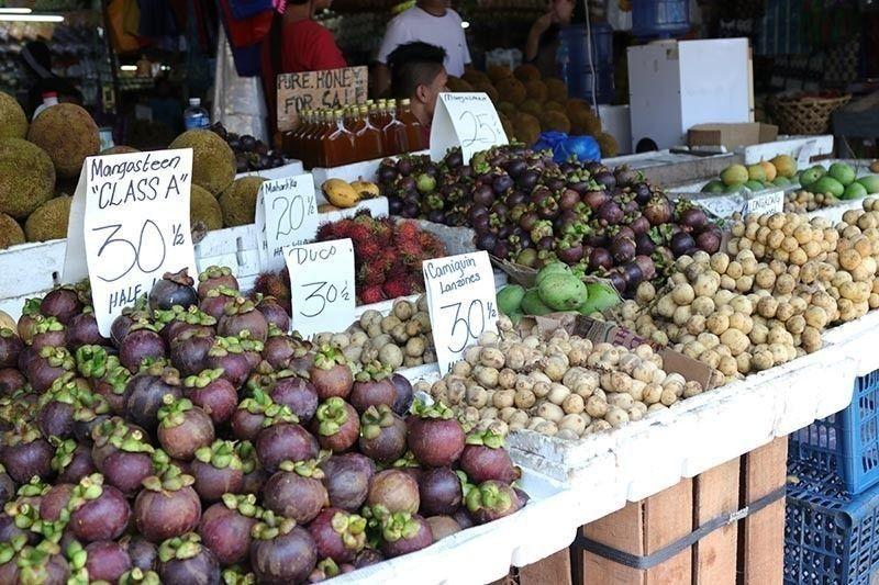 Davao fruits in season. (Photo by: Reuel John Lumawag)