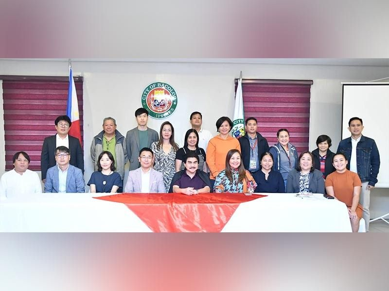 BACOLOD. The Bacolod Organizing Committee, led by Mayor Evelio Leonardia, meets with Imaco, led by secretary-general Kil Sang Yoo, at a coordination meeting at the Bacolod City Government Center on Tuesday, August 27. (Contributed photo/City PIO)
