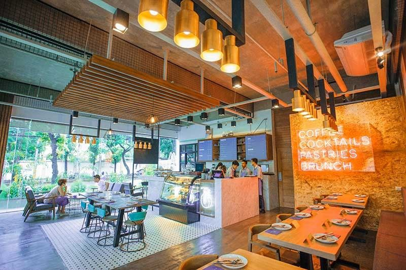 BRINGING SPECIALTY COFFEE CLOSER TO CUSTOMERS. Rejzl Awit, co-founder of Bicester Cafe, says they want a corner in Cebu IT Park where people can chill and relax while having a cup of coffee in the morning or a drink at the end of a long day. (Contributed Photo)