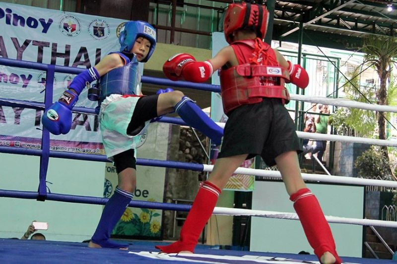 SURE MEDAL. Muay Thai, which is one of the combat sports played in the ongoing Batang Pinoy National Finals in Palawan delivered at least 10 gold medals for Baguio City in its bid to retain the overall title. (SSB file photo)