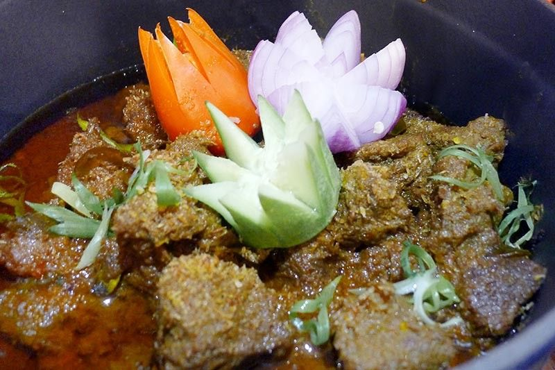 DAVAO. Beef Rendang. (Photo by Jinggoy I. Salvador)