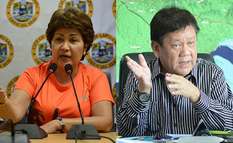 Paz Radaza and Tomas Osmeña (SunStar file photos)