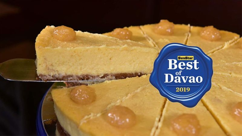 DAVAO. Best of Davao's Durian Cheesecake is Lachi's. (Reinhart Belviz)