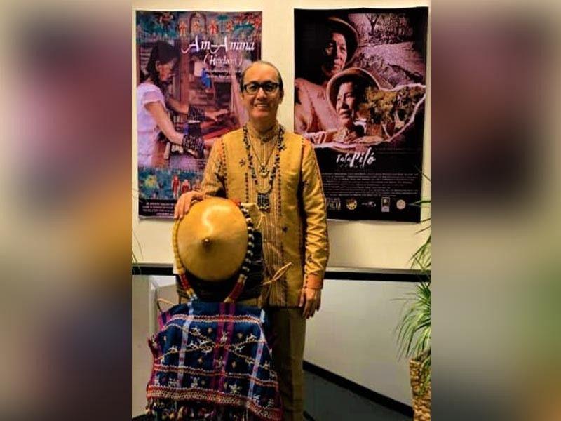 BAGUIO. Film maker Dexter Macaraeg. (Contributed photo)