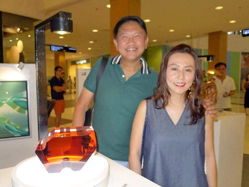 Rodolfo & Debbie Hao. (Photo by Jinggoy I. Salvador)