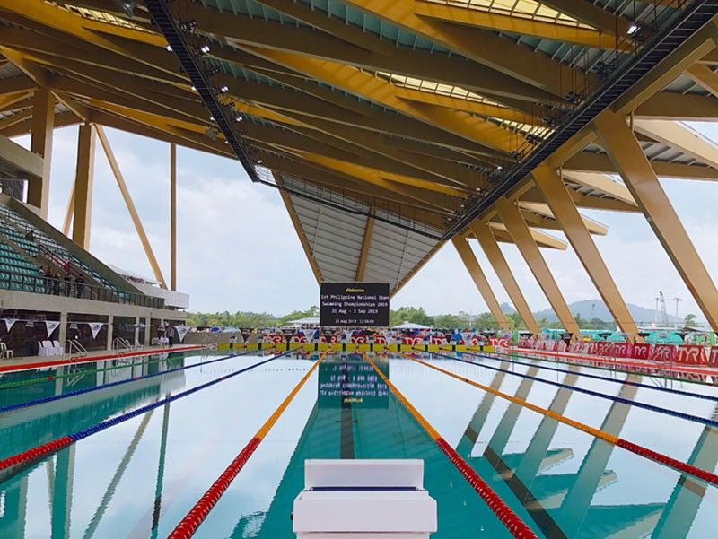 CAPAS, TARLAC. The newly finished Aquatics Center at New Clark City in Capas, Tarlac. (Photo by: Charlene A. Cayabyab)