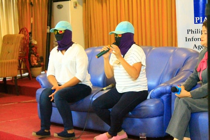 CAGAYAN DE ORO. Two masked persons who claimed to be former recruiters and members of the New People's Army (NPA) said that they had recruited several students from colleges and universities in Cagayan de Oro City to be a part of the rebel group.