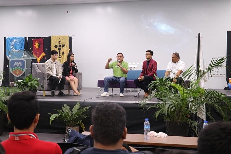 The Media Convergence of Malayan Colleges Mindanao had distinguished guests from different mass media fields to talk of the current trends, opportunities, and challenges that they face. (Photo from Malayan Colleges of Mindanao)