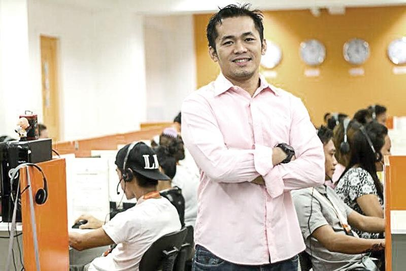 UP FOR THE CHALLENGE. Tech-entrepreneur Michael Cubos, founder of homegrown Performance360 Call Center and BPO Services, is ready to take on the next challenging course, as he heads the month-long business activity, Cebu Business Month, in 2020. (Contributed Photo)