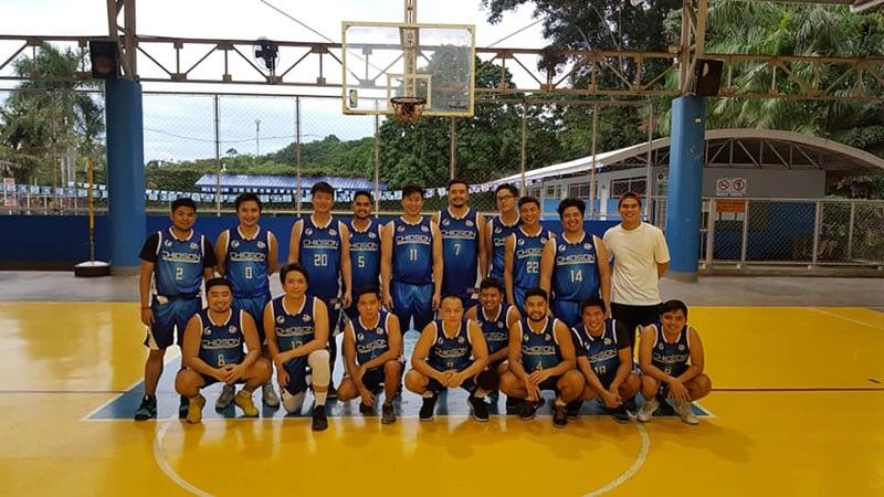ALL SMILES. Batch 2011 nabbed their third win in four games after ending Batch 2013's undefeated run in the Sacred Heart Ateneo Alumni Athletic Association. (Contributed Photo)