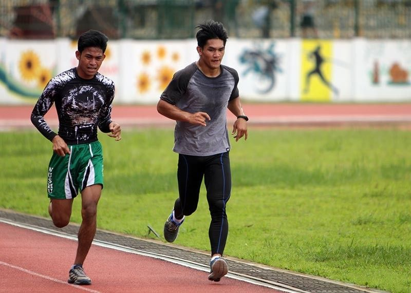 BAGUIO. Danny Kingad holds an early morning jog at the Baguio Athletic Bowl as he gears up for a titanic showdown against Demetrious Johnson in the ONE Flyweight World Grand Prix Championship Final on October 13 in Tokyo, Japan dubbed ONE: Century. (Roderick Osis)