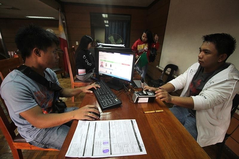 BAGUIO. The Commission on Elections encourages the public to have their voter's registration as early as now and not wait for the last day, which is on September 30, 2019. (Jean Nicole Cortes)