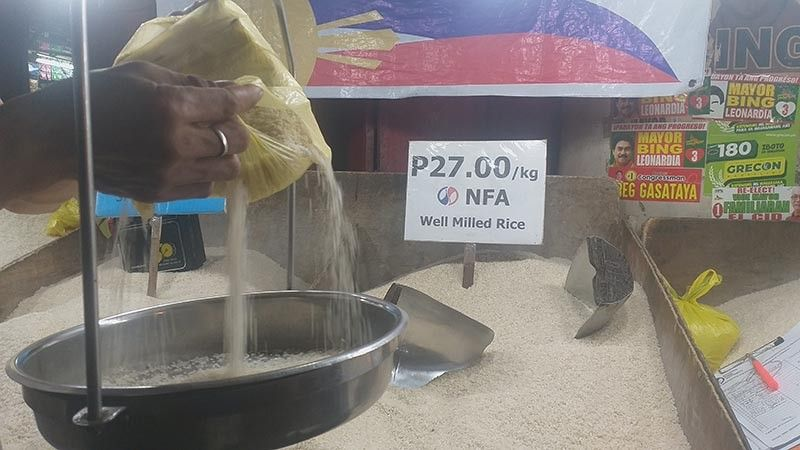BACOLOD. The P27 per kilogram NFA rice will still be available among markets in Negros Occidental probably until October this year. (Erwin Nicavera)
