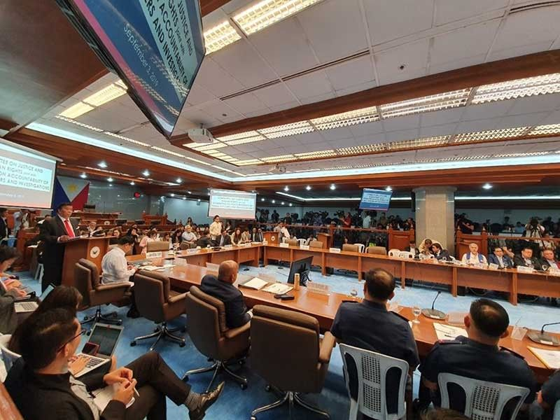 MANILA. The GCTA law is the subject of a joint hearing of the Senate committees on justice and human rights; constitutional amendments and revision of codes; public order and dangerous drugs; finance; and Blue Ribbon on Tuesday, September 3, 2019. (Photo from Senate Facebook page)
