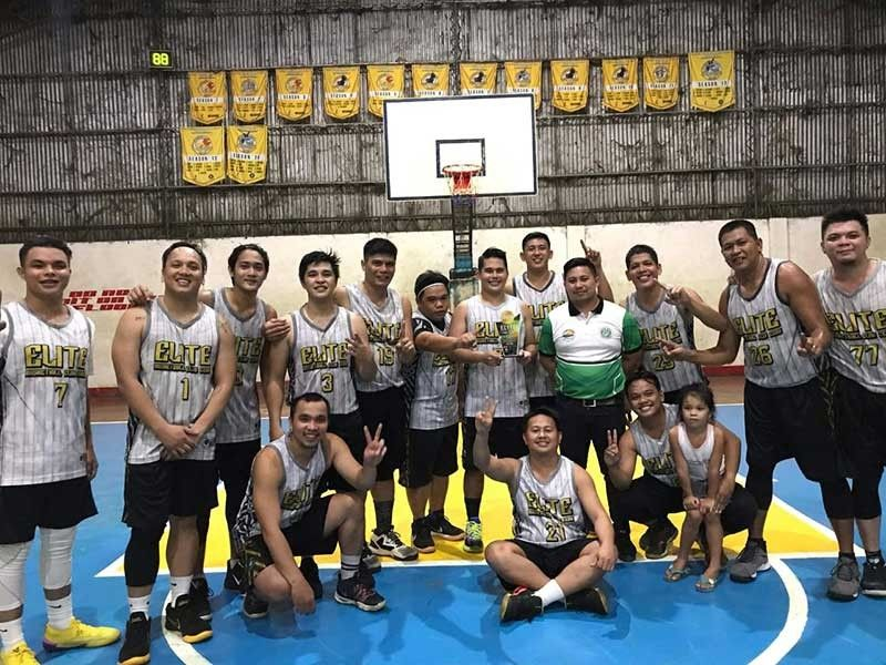 CHAMPIONS. The Eagles rule the Elite Basketball Club Cebu City Season 15 after beating the Cheetahs, 81-78, in the championship game. 
