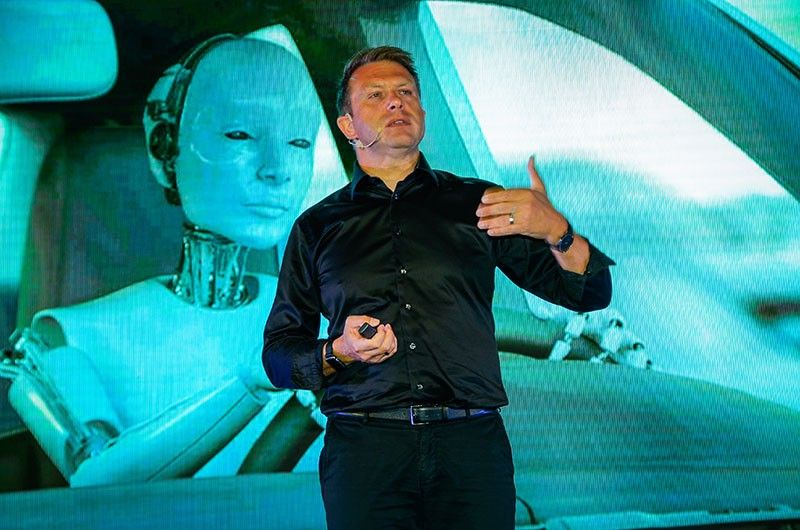 GLOBAL CHALLENGE: Nicklas Bergman, a funder, futurist and tech investor, says it would require a lot of convincing for telco players to attract consumers to embrace the 5G technology. He said the demand will pick up as soon as consumers will realize its benefits. (Contributed Photo)