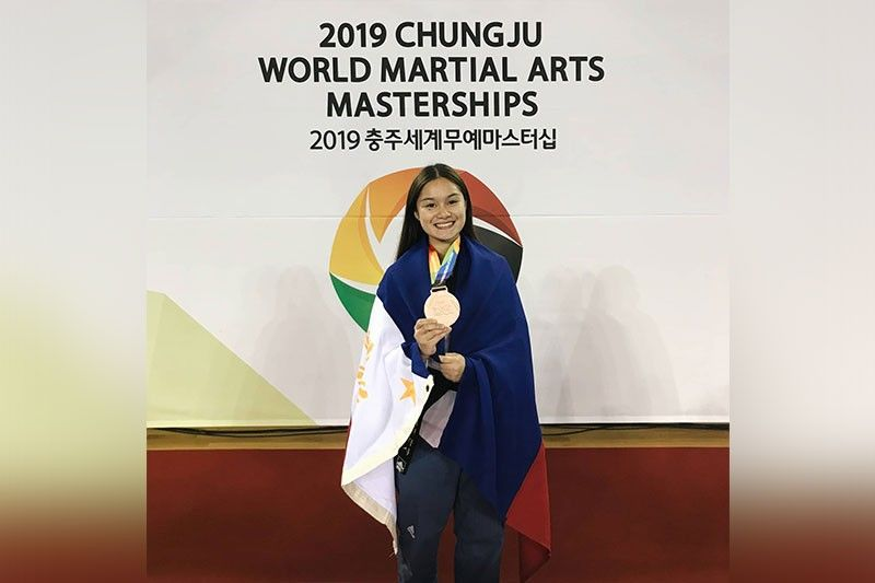 THREE FOR THREE. Cebuana Adaine Laxa, who is hoping to compete in the Southeast Asian Games, wins another medal in her third straight international tournament. (Contributed Photo)