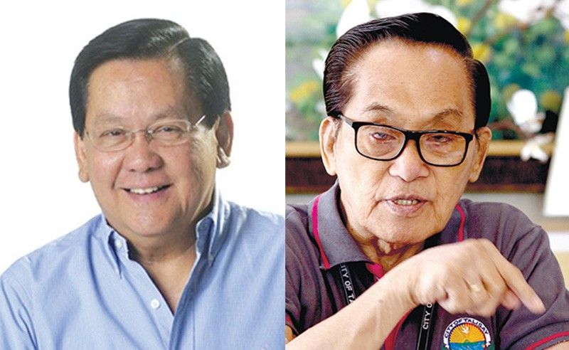 Sergio Osmena III and Eduardo Gullas (SunStar file photos)