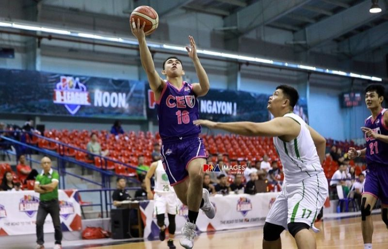 DEBUT. Former Sacred Heart School-Ateneo de Cebu star Eric Gabrielle Tuadles had 23 points in his debut in the Universities and Colleges Basketball League. (Photo from PBA D-League)