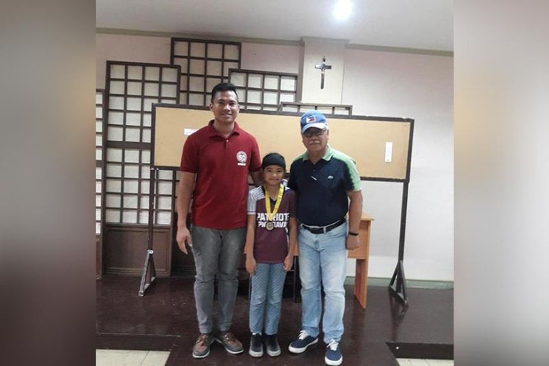 DAVAO. Samantha Baran, center, emerges elementary girls chess champion of the recently-concluded Dacs Sportsfest chess competition held at Davao Association of Catholic Schools (Dacs) office in Juna Subdivision, Matina, Davao City. (Ivy Valdez Facebook)