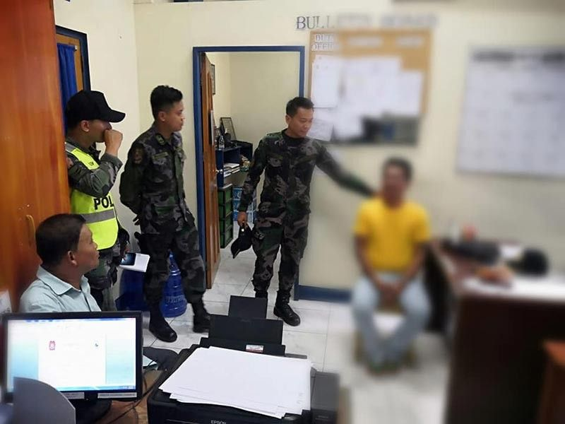 The Davao City Police Office (DCPO) accommodated convict Danilo Alvarez Palicte who surrendered on Friday, September 6. Palicte, imprisoned for statutory rape, was among erroneously released by virtue of the Good Conduct Time Allowance (GCTA). Photo credit to DCPO Facebook Page.