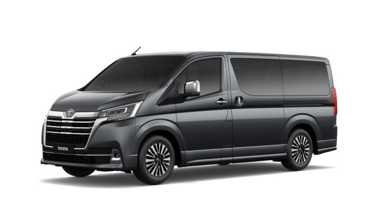 LAUNCHED. New variants for the all-new Toyota Hiace Super Grandia were recently unveiled: Elite, Leather and Fabric; each with upgrades and features that elevate the riding experience. (Contributed Photos)