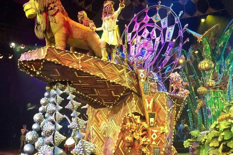 "HONG KONG. ""The Lion King"" was a spectacular show! (Photo by Debb Bautista)"
