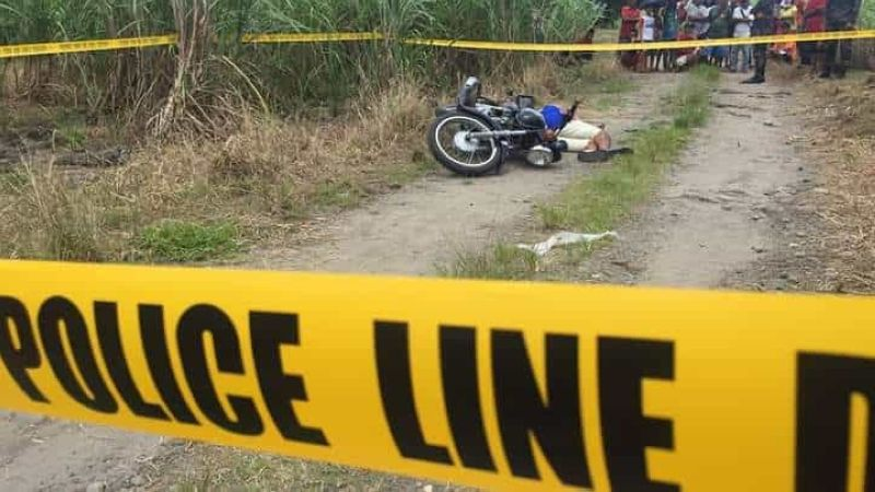 BACOLOD. Drug suspect killed in drug bust in Purok Inday Uya, Barangay Vista Alegre, Bacolod City Friday morning, September 6, 2019. (Photo by Bombo Radyo Bacolod)