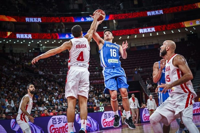 Cebuano Roger Pogoy could possibly be one of the Gilas cornerstones for the future, says Joel Co. (Image courtesy of Fiba)