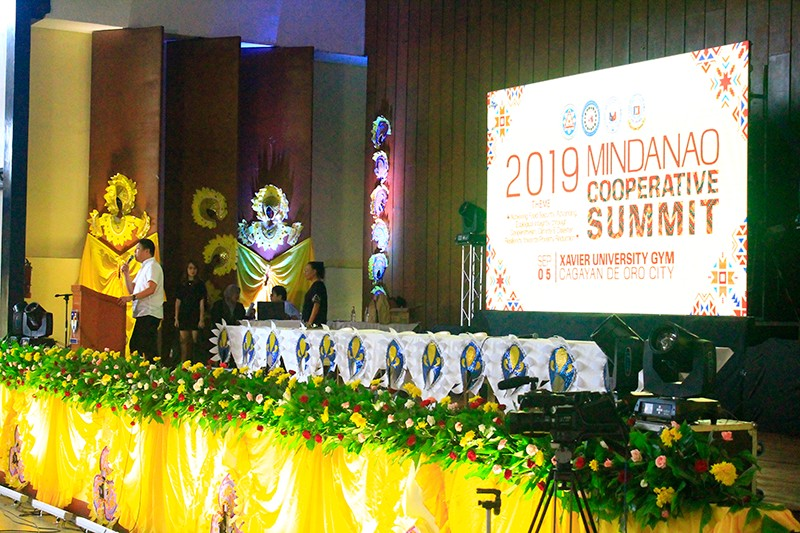 Around 800 cooperatives in Mindanao convened in Cagayan de Oro City for the Mindanao Cooperative Summit at the Xavier University Gymnasium, on Thursday, September 5, 2019. (Photo by Jo Ann Sablad)