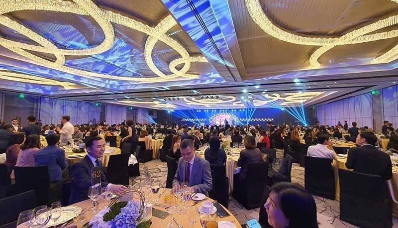 DAVAO. Setting the stage for the dusitD2 Davao Inauguration is the Dusit Thani Grand Ballroom Davao, the largest pillarless ballroom in Davao, now open for event booking. (Photo courtesy of Torre Lorenzo Development Corporation)