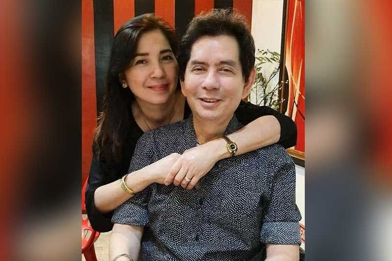CELEBRATION. Birthday celebrator and family friend, Dodong Gawchua with wife, Sofia.