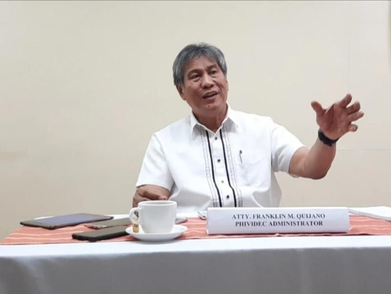 CAGAYAN DE ORO. Phividec Administrator Franklin Quijano talks to reporters about the development of the first Philippine Industrial Summit which will be held in Cagayan de Oro, this November.