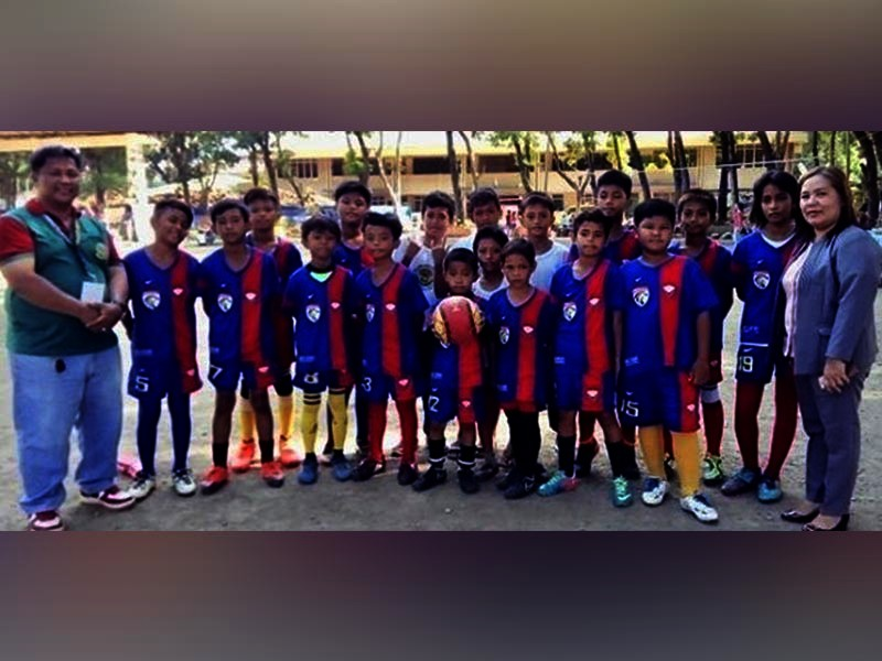 The Kauswagan Falcons FC dominates the North II District meet elementary football to advance to the Cagayan de Oro Division meet set later this month. (Jack Biantan)